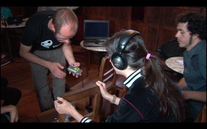 Introdução ao sampling – Residência artística no evento El Globo de Juan (Braga – 2009)