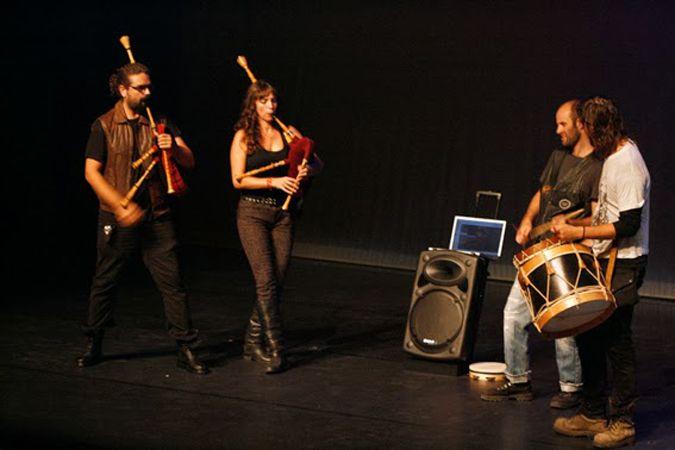Gaiteiros do Asfalto Live@ Quintas de Leitura no Teatro do Campo Alegre (Porto – 2013)